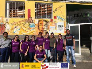 "Entrega de productos textiles a CEMI de Santa Lucía y a Aldeas Infantiles Telde – PFAE GJ ""El Taller de Mercedes"""