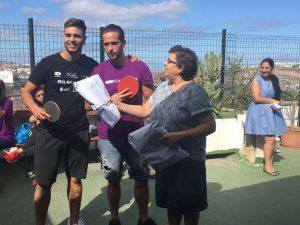 Entrega de premios – Concurso de Ping Pong