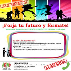 Plazas libres Curso de Ayuda a la Dependencia ¡SOLO FALTAS TU!