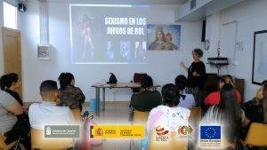 """Charla de Igualdad de Oportunidades en PFAE-GJ """"El Cafetín"""""""