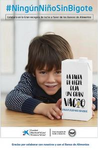 "Campaña ""Ningún niño sin bigote"""