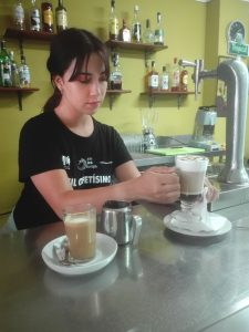 Módulo de bebidas en PIIIL Cafetísimo