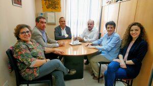 Visita del Viceconsejero de Políticas Sociales