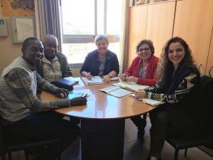 Reunión sobre la situación actual de menores y extutelados inmigrantes