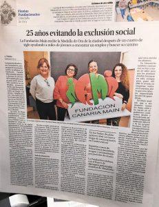 «25 años evitando la exclusión social»