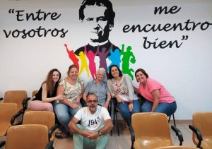 Visita de Sor Mercedes Infante