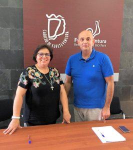 Firma de convenio con el Cabildo de Fuerteventura
