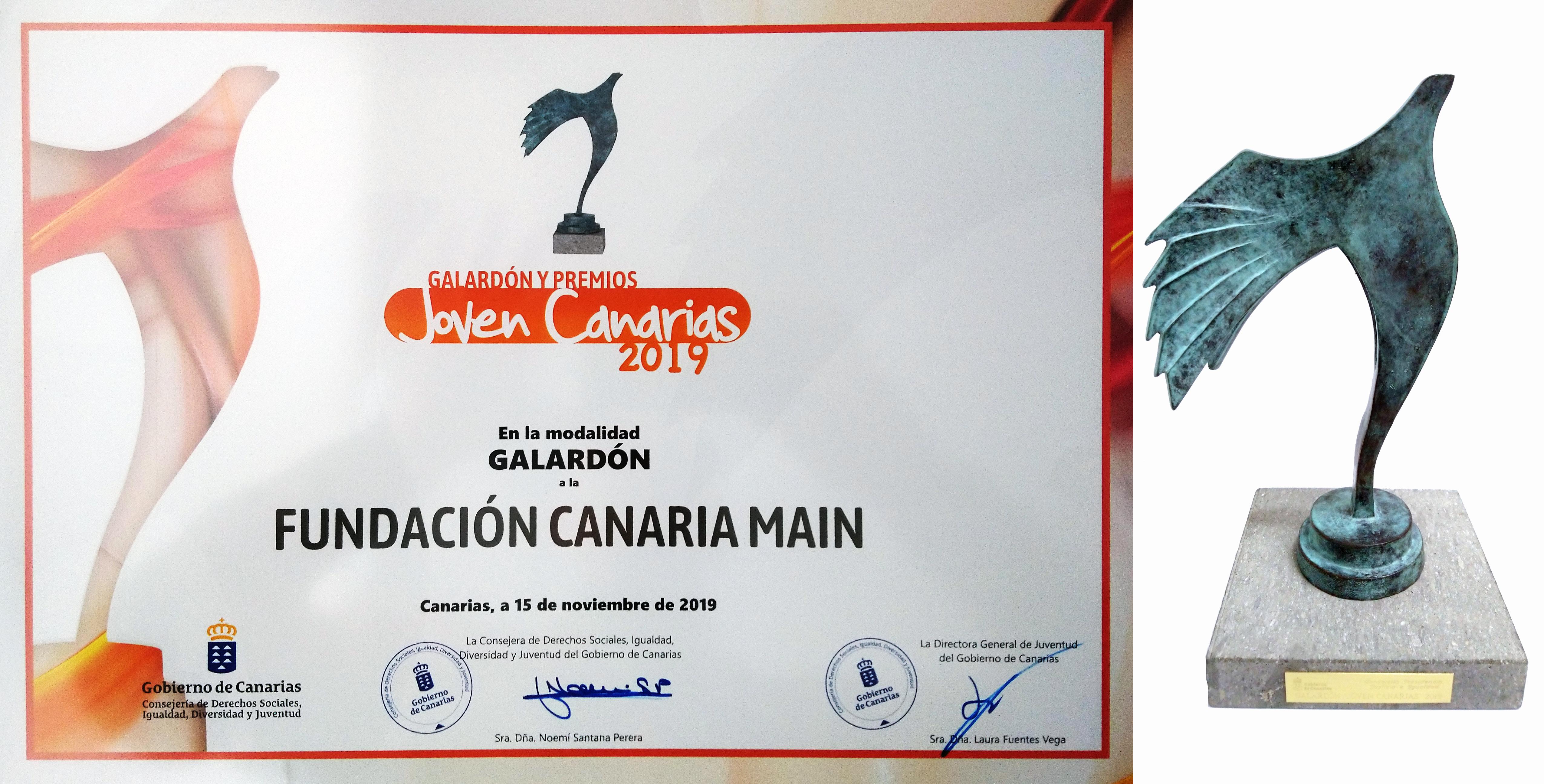 Galardón Joven Canarias 2019