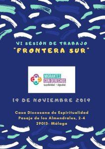 """Participamos en VI SESIÓN DE TRABAJO """"FRONTERA SUR"""""""