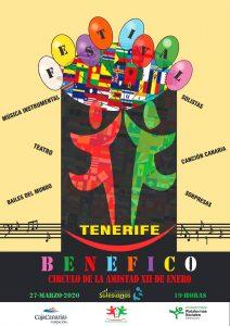 Próximo «Festival Benéfico» en nuestra sede de Tenerife