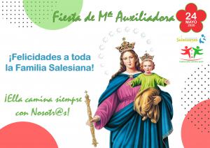 ¡Felicidades a toda la Familia Salesiana!