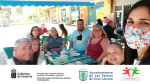Reunión informal de convivencia en Proyecto Integra